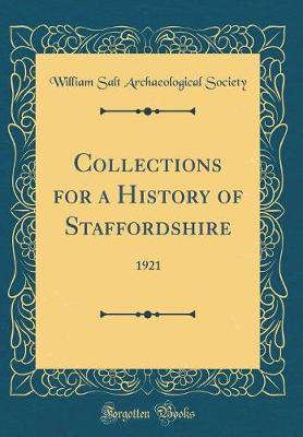Collections for a History of Staffordshire by William Salt Archaeological Society image
