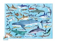 Crocodile Creek: 36 Animal Puzzle - Sharks (300pc)