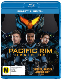 Pacific Rim 2: Uprising on Blu-ray