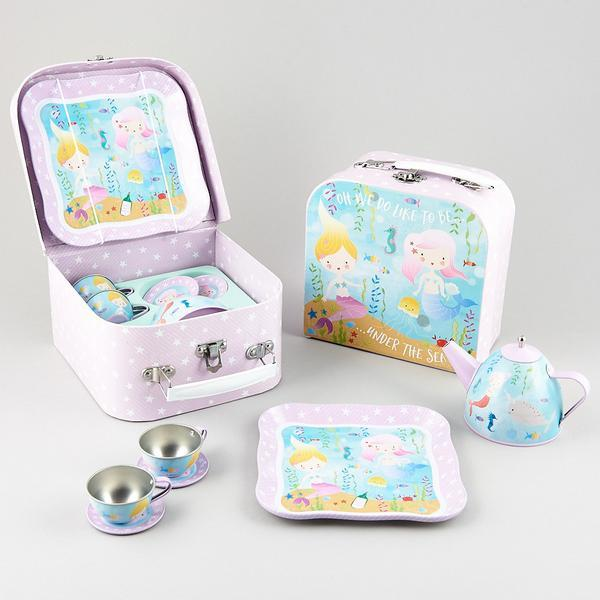 Floss & Rock: Tin Mermaid - Tea Party Set