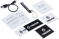 TREZOR One Crypto Wallet- Black image