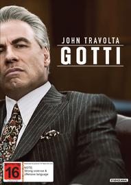 Gotti (2018) on DVD