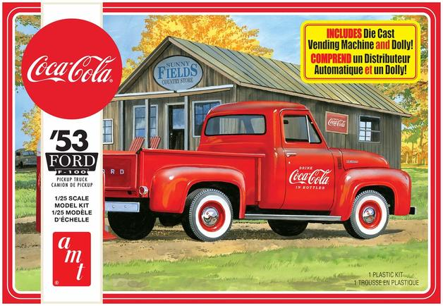 AMT: 1/25 1953 Ford Pickup Coca Cola - Model Kit