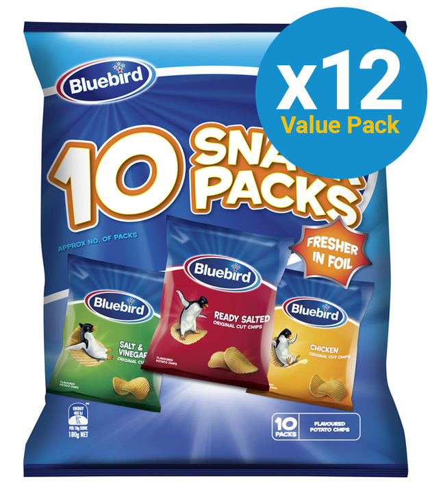 Bluebird Multipack - Original Cut Combo Bag (12 Pack)