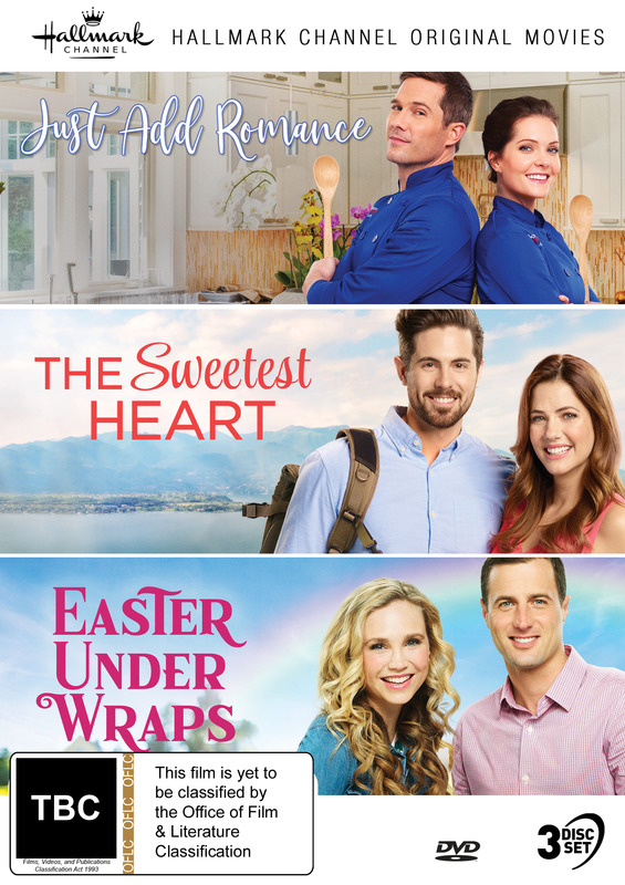 Hallmark Collection 10: Just Add Romance, Sweetest Heart, Easter Under Wraps on DVD