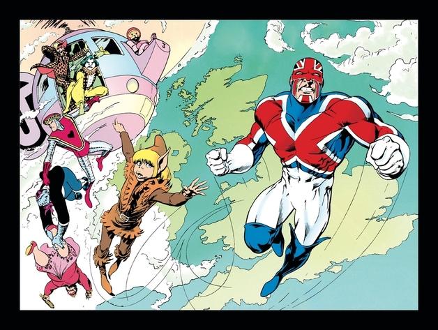 Captain Britain Omnibus by Chris Claremont