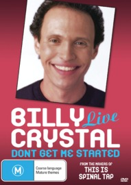Billy Crystal Live: Don't Get Me Started on DVD