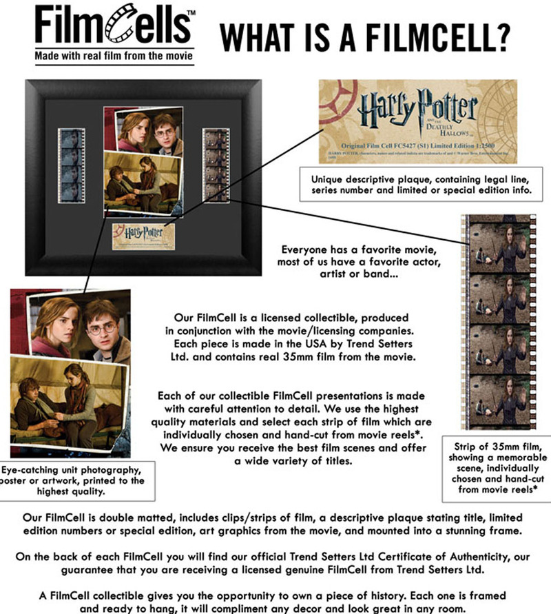 FilmCells: Mini-Cell Frame - Harry Potter (Half-Blood Prince) image