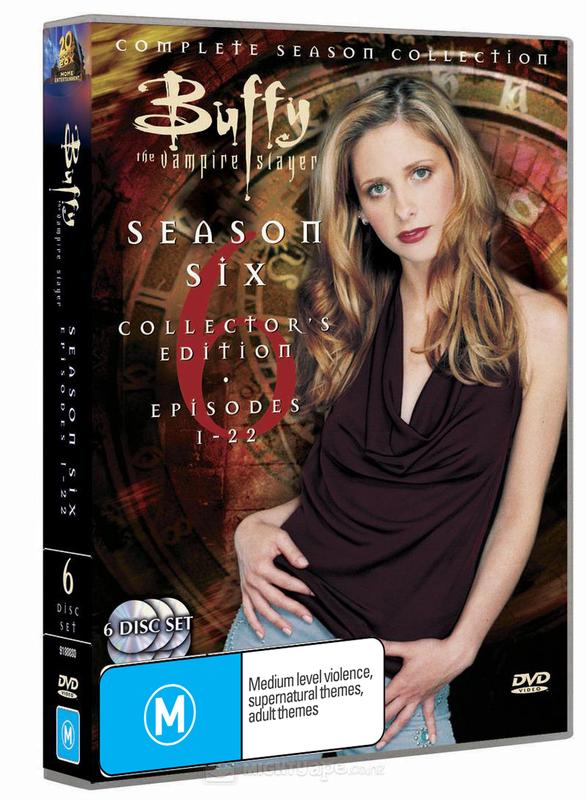 Buffy - The Vampire Slayer: Season 6 (6 Disc Set) on DVD