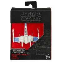 Star Wars: The Black Series Titanium Series Resistance X-Wing
