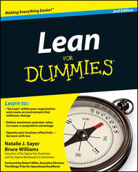 Lean For Dummies by Natalie J Sayer