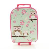 BobbleArt Wheelie Travel Bag - Owl