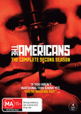 The Americans - The Complete Second Season DVD