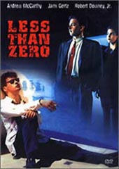 Less Than Zero on DVD