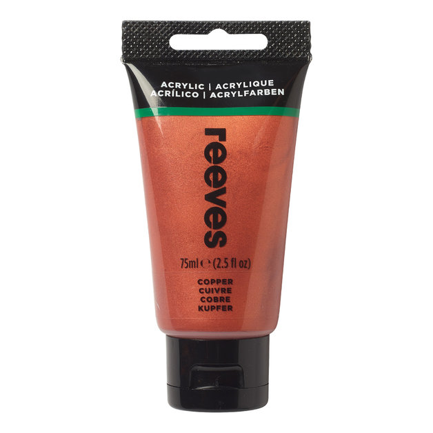 Reeves Fine Acrylic - Copper (75ml)
