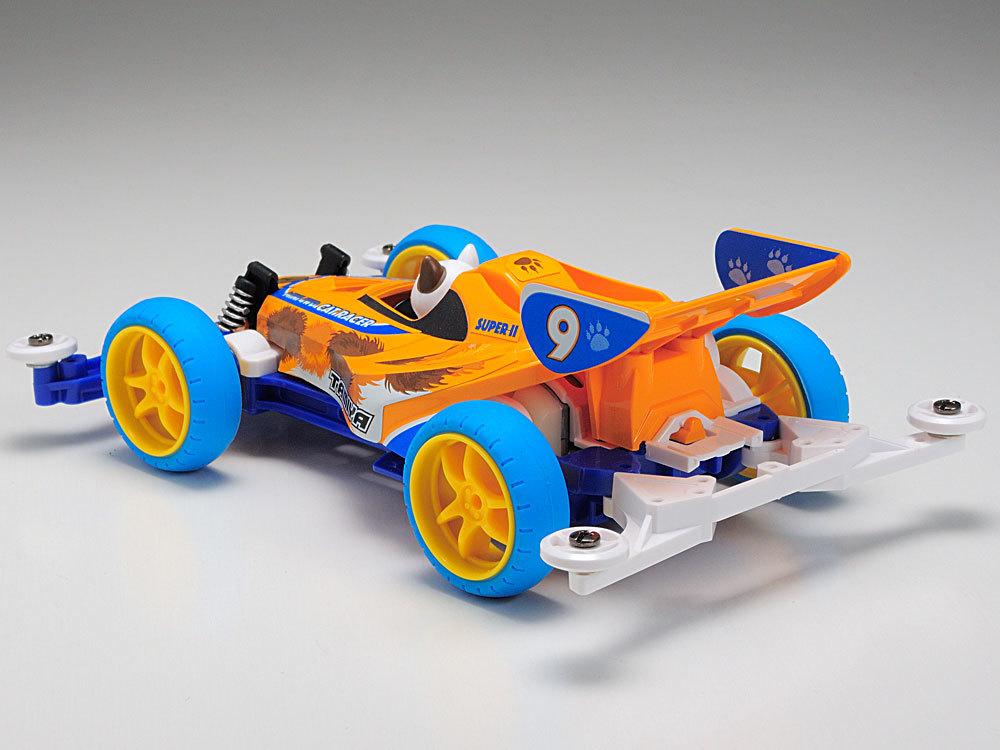 Tamiya Mini 4WD JR Cat Racer LTD EDITION CAR W/CAT - Super II Chassis image