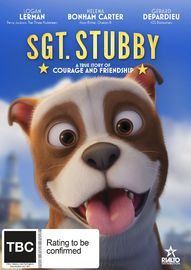 Sgt. Stubby on DVD