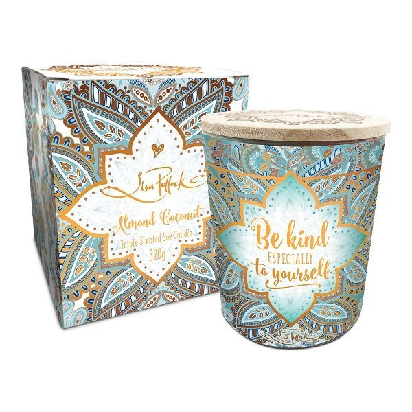 Lisa Pollock: 'Be Kind to Yourself' Scented Candle