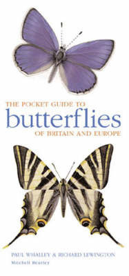 Mitchell Beazley Pocket Guide to Butterflies by Paul Ernest Sutton Whalley