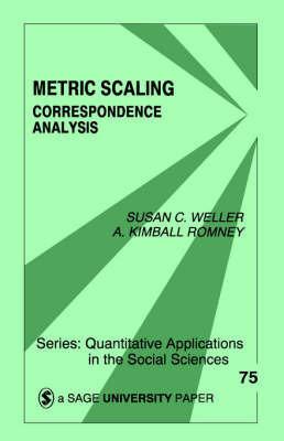 Metric Scaling by Susan C Weller