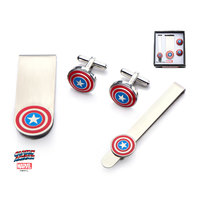 Marvel Captain America Cufflink Gift Set