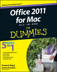 Office 2011 for Mac All-in-One For Dummies by Geetesh Bajaj