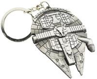 Star Wars Millennium Falcon Metal Keyring