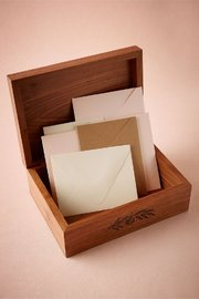 Cardtorial Wood Box - I Carry Your Heart image
