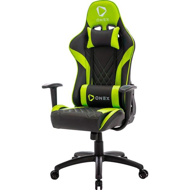 Aerocool ONEX GX2 Series Gaming Chair (Black & Green) for