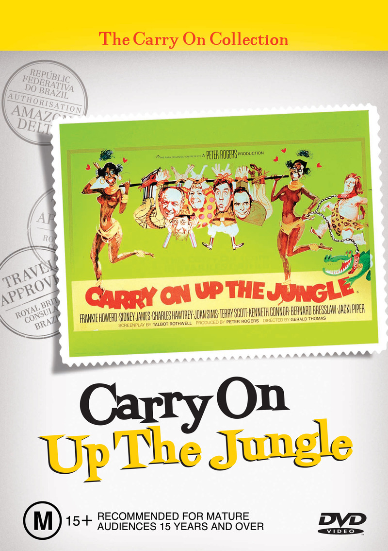 Carry On Up The Jungle on DVD image