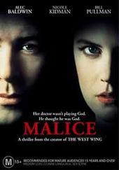 Malice on DVD