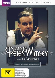 Lord Peter Wimsey - The Complete Third Series on DVD