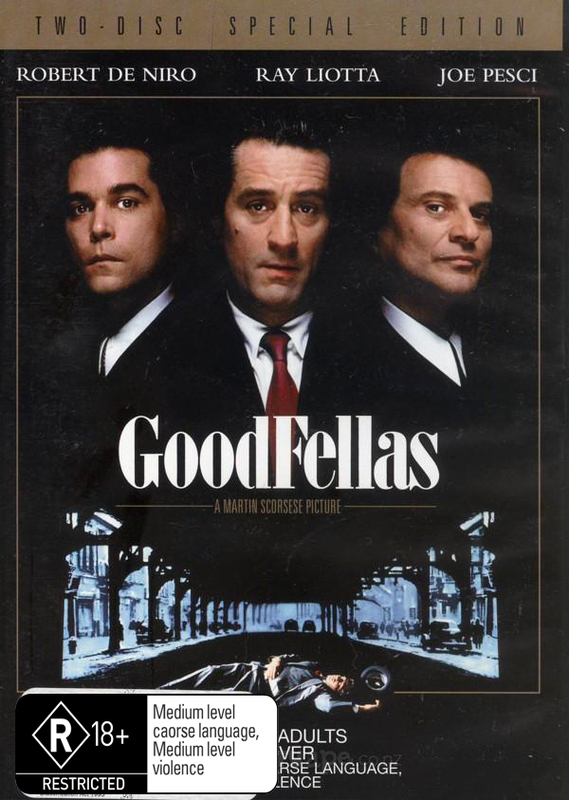 Goodfellas - Special Edition on DVD