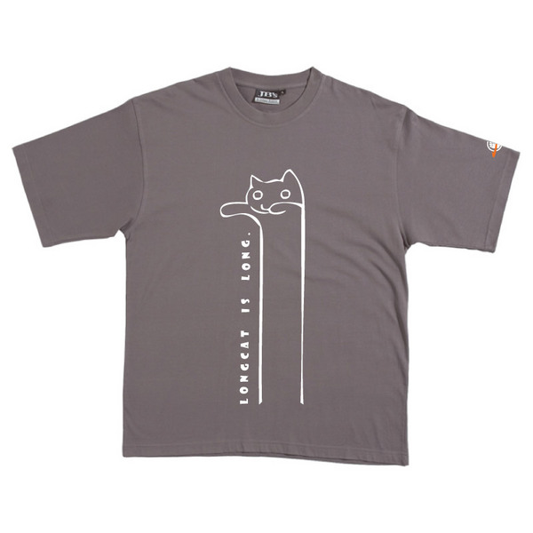 Longcat - Tshirt (Steel) for  image