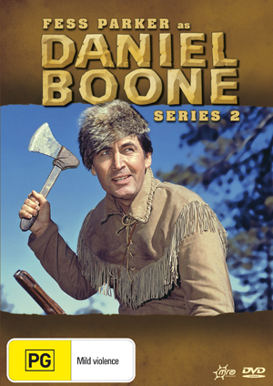 Daniel Boone (1964) - Season 2 (8 Disc Box Set) on DVD image