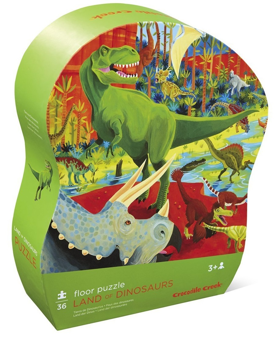 land of dinosaurs puzzle