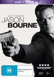Jason Bourne on DVD
