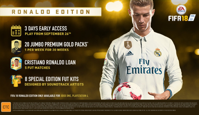 fifa 18 ronaldo edition xbox one buy now at mighty ape nz