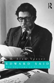 Edward Said by H.Aram Veeser
