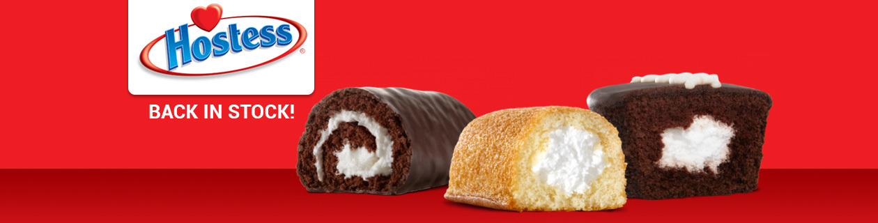 Hostess Twinkies range back in stock!