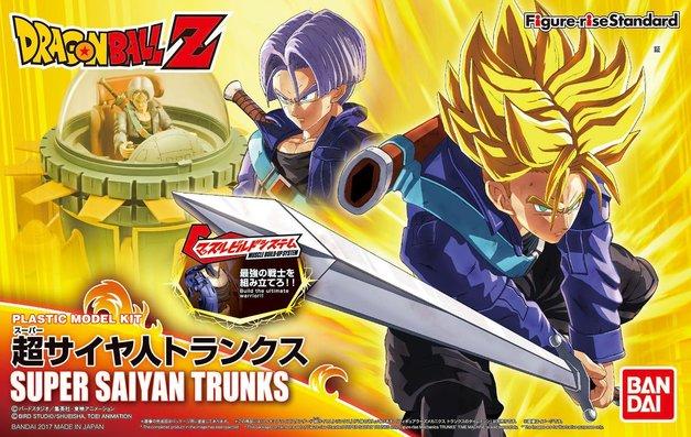 Dragon Ball: Figure-rise: SS Trunks - Model Kit