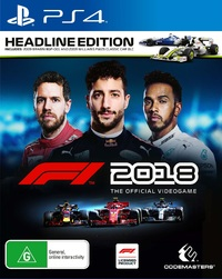 F1 2018 Headline Edition for PS4