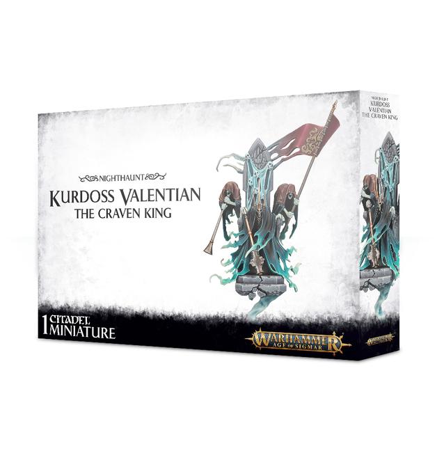 Warhammer Age of Sigmar: Kurdoss Valentian, The Craven King