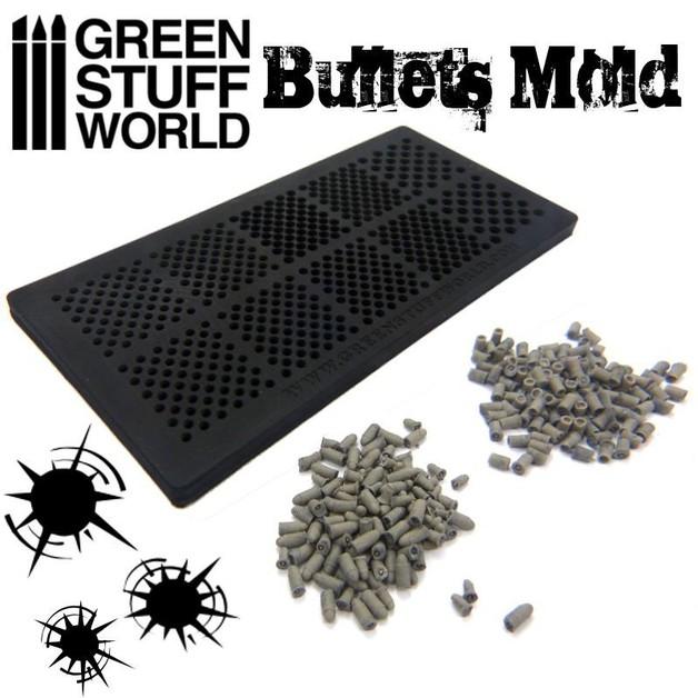 Green Stuff World Rubber molds - BULLETS