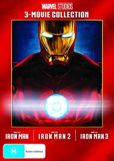 Iron Man: 3 Movie Collection on DVD image