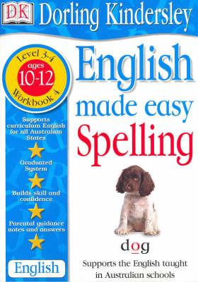 English Made Easy: Spelling: Level 3-4, Workbook 4 by Dorling Kindersley image