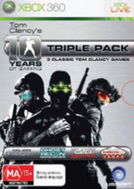 Tom Clancy Triple Pack (includes Rainbow Six, Double Agent, Advanced Warfighter) for X360