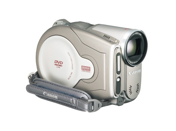 Canon DC40 DVD Video Camera 10x Zoom 4.3MP