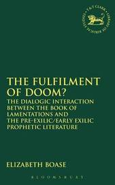 The Fulfilment of Doom by Elizabeth Boase image