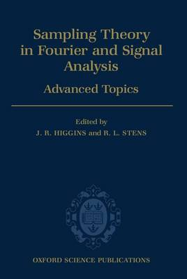 Sampling Theory in Fourier and Signal Analysis: Advanced Topics by J.R. Higgins image